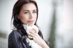 Schönes Frauenportrait Stockfoto