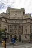 Schönes Gebäude auf den Straßen von Barcelona lizenzfreie stockfotos