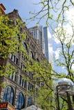 Schönes Gebäude in der Stadt Denver, Kolorado Stockfoto