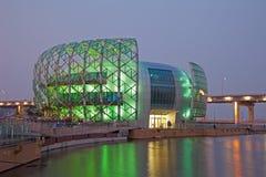 Schönes Gebäude in Südkorea lizenzfreies stockbild