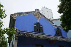Schönes Gebäude von Cheong Fatt Tze - die blaue Villa in Geor Stockfoto