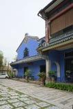 Schönes Gebäude von Cheong Fatt Tze - die blaue Villa in Geor Stockfotografie