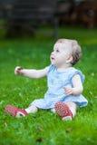 Schönes geiferndes nettes Baby Stockbilder