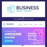 Schönes Geschäfts-Konzept-Markennameeinkaufen, Kleider, Kauf, O lizenzfreie abbildung