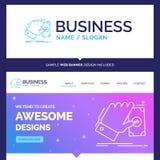 Schönes Geschäfts-Konzept-Markennamegeschäft, Hand, Geld, Ohr stock abbildung