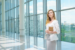 Schönes Geschäftsfrau-Portrait Stockfotos