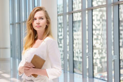 Schönes Geschäftsfrau-Portrait Lizenzfreie Stockfotografie