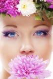 Schönes Gesicht lizenzfreies stockbild