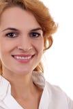 Schönes Gesicht der Geschäftsfrau Lizenzfreie Stockbilder