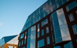 Schönes Glashaus Stockbild