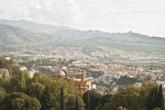 Schönes Granada stockfotografie
