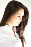 Schönes Haar der jungen Frau Lizenzfreie Stockfotografie