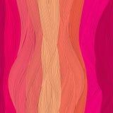 schönes Haar des nahtlosen Musters kann als Fahnen für Design benutzt werden Lizenzfreie Stockfotografie