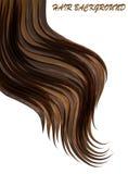 schönes Haar kann als Fahnen für Design benutzt werden Lizenzfreie Stockbilder