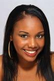Schönes haitianisches Mädchen, Headshot (1) Stockfotos