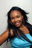 Schönes haitianisches Mädchen, Headshot (6) Stockfotos