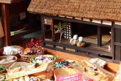 Schönes Handwerk in Gokayama Japan Stockfoto