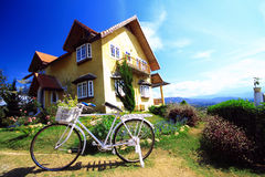 Schönes Haus Stockfotografie