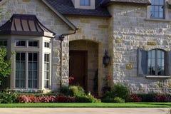 Schönes Haus Stockfotos