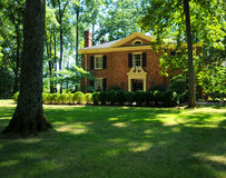 Schönes Haus stockbilder