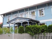 Schönes Haus, Lettland Lizenzfreies Stockfoto