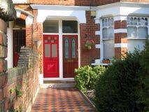 Schönes Haus in London, England Stockfotos