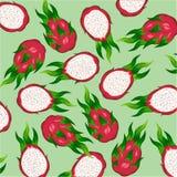 Schönes helles exotisches Fruchtgestaltungselement Stockfoto