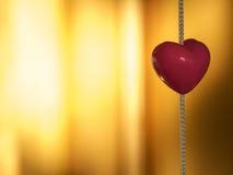 Schönes Herz stockfotografie