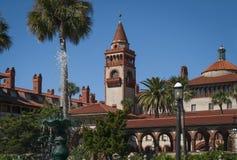Schönes historisches Flagler-College Stockfotos