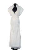 Schönes Hochzeitskleid Lizenzfreie Stockfotografie