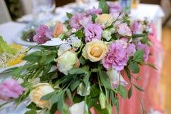 Schönes Hochzeitsrestaurant für Heirat Lizenzfreie Stockfotos