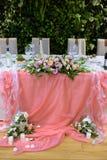 Schönes Hochzeitsrestaurant für Heirat Stockfoto