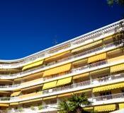 Schönes Hotel in Nizza Frankreich Stockfotografie