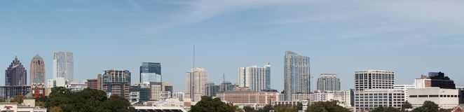 Schönes im Stadtzentrum gelegenes Atlanta stockbilder