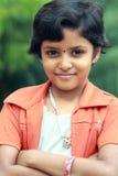 Schönes indisches jugendlich Mädchen Stockbild