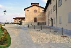 Schönes italienisches Dorf Lizenzfreies Stockfoto
