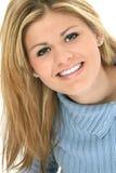 Schönes jugendlich Lächeln Lizenzfreies Stockfoto