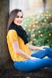Schönes jugendlich Mädchen lizenzfreies stockfoto