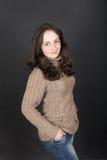 Schönes Jugendlichmädchen Lizenzfreie Stockfotografie