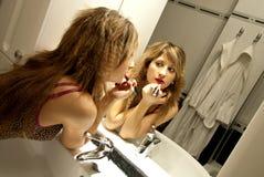 Schönes junge Frauen-Bilden Lizenzfreie Stockbilder