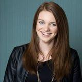Schönes junge Frauen-Lachen Lizenzfreie Stockfotos