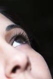 Schönes junges Auge Stockfoto