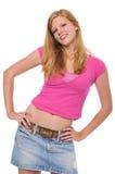 Schönes junges blondes Lizenzfreie Stockfotografie