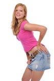 Schönes junges blondes Lizenzfreie Stockfotos