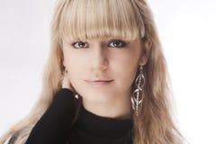 Schönes junges blondes Mädchen Stockbilder