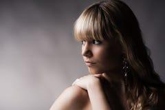 Schönes junges blondes Mädchen Lizenzfreies Stockbild