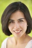 Schönes junges hispanisches Frauenportrait Stockfotos