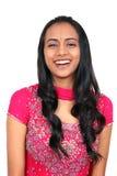 Schönes junges indisches Mädchen. Stockfotos