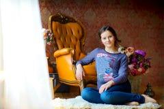 Schönes junges Mädchen Stockbilder