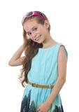 Schönes junges Mädchen mit einem Lächeln Stockbild